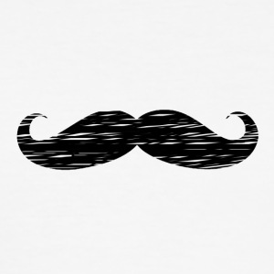 Moustache - Men's Slim Fit T-Shirt