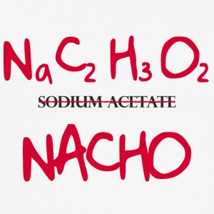 Chemists / chemistry: Na CHO - Sodium Acetate - Men's Slim Fit T-Shirt