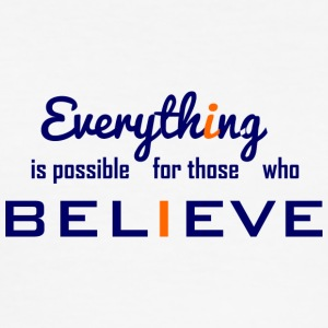 Everything is possible - Men's Slim Fit T-Shirt