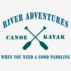 River Canoe Kajakken - slim fit T-shirt