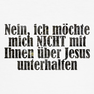 Jesus - Männer Slim Fit T-Shirt