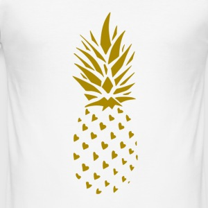 Pineapple Gold - slim fit T-shirt