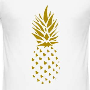 Pineapple Gold - Men's Slim Fit T-Shirt