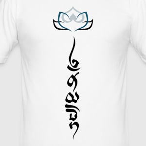 Namaste II - Männer Slim Fit T-Shirt