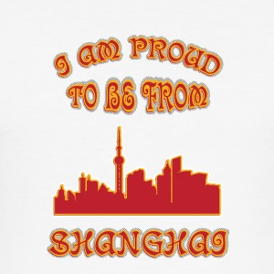 SHANGHAI I am proud to be from - Men's Slim Fit T-Shirt