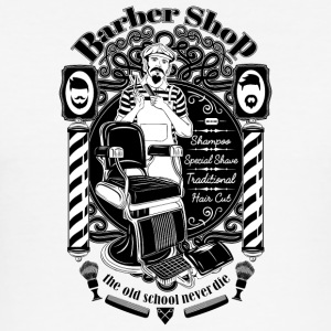 barber_shop - Männer Slim Fit T-Shirt