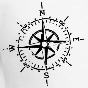Compass, Retro - Men's Slim Fit T-Shirt