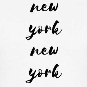 New York New York - Slim Fit T-skjorte for menn
