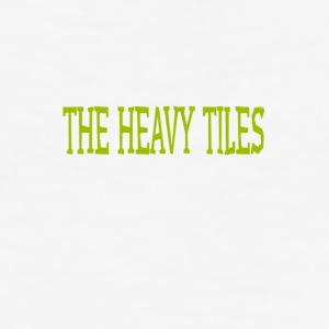 Heavy Tiles original logo collection - Maglietta aderente da uomo