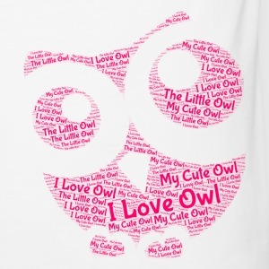Lovely Owl - Men's Slim Fit T-Shirt