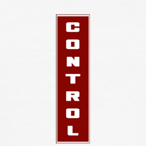 Red Controle - slim fit T-shirt