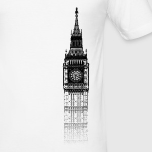 Around The World: Big Ben - Londres - Tee shirt près du corps Homme