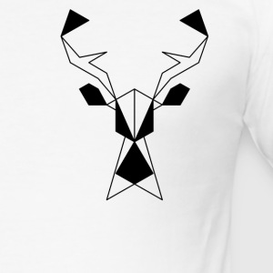 Deer # 1 - Slim Fit T-shirt herr
