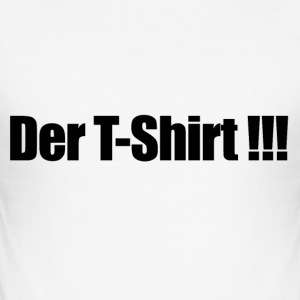 Der T-Shirt - Männer Slim Fit T-Shirt