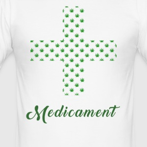 Medicated 2.0 - Men's Slim Fit T-Shirt