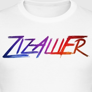 rainbow ZizAlliEr - Männer Slim Fit T-Shirt