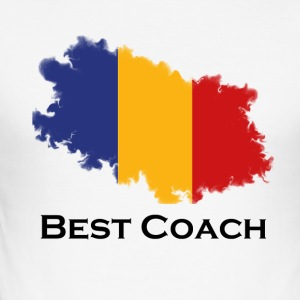 bestcoachromania - Männer Slim Fit T-Shirt