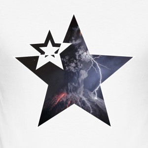 "Star ""Vulcano"" - Men's Slim Fit T-Shirt"