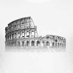 Around The World: Colosseum - Rome - Men's Slim Fit T-Shirt