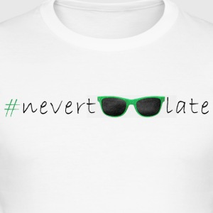 t-shirt nevertoolate SunGlasses woman - Maglietta aderente da uomo