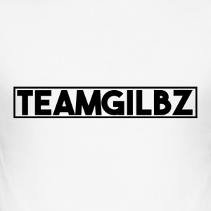 Team Gilbz White T-Shirt - Men's Slim Fit T-Shirt