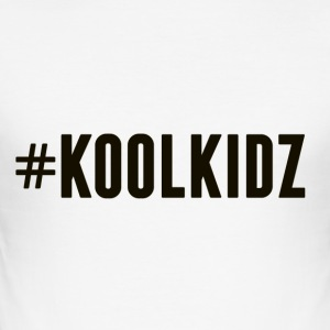 KoolKidz - Slim Fit T-skjorte for menn