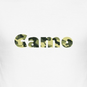 Camo Designs - Männer Slim Fit T-Shirt