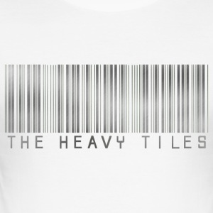 The Heavy Tiles Barcode collection - Men's Slim Fit T-Shirt