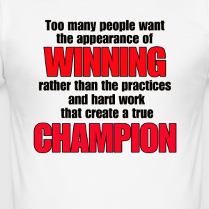 TRUE CHAMPION - slim fit T-shirt