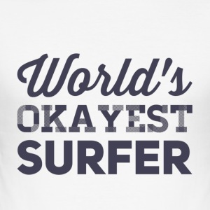 surfer overhemd - slim fit T-shirt