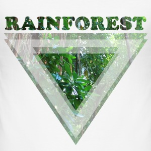 Rainforest - Männer Slim Fit T-Shirt