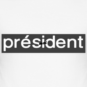 NEM - President 2017 Collectie - slim fit T-shirt