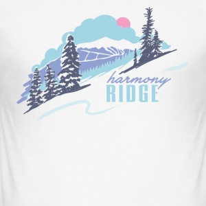 The Ridge - Slim Fit T-skjorte for menn