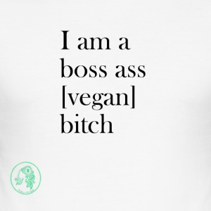 Bag - Boss Ass Bitch Vegan - Men's Slim Fit T-Shirt