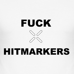 Fan Hitmarkers Design - Slim Fit T-shirt herr