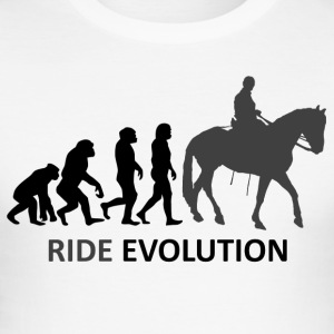 ++ ++ Ride Evolution - Slim Fit T-shirt herr