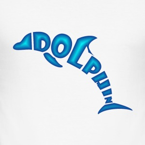 Dolphine - Männer Slim Fit T-Shirt