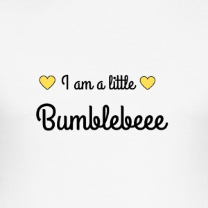 I am a little bumblebeee - Men's Slim Fit T-Shirt