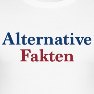 alternative Fakta - Herre Slim Fit T-Shirt