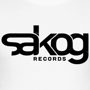 Sakog Records - Männer Slim Fit T-Shirt