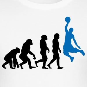 ++ Basketball Slam Dunk Evolution ++ - Men's Slim Fit T-Shirt