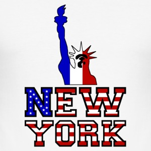 New York Liberty - Slim Fit T-skjorte for menn