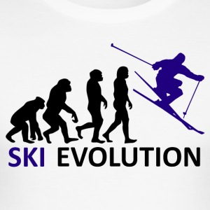 ++Ski Evolution++ - Männer Slim Fit T-Shirt