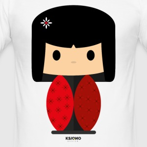 kawaii Ksi - Herre Slim Fit T-Shirt