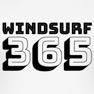 Windsurfen 365 - Männer Slim Fit T-Shirt