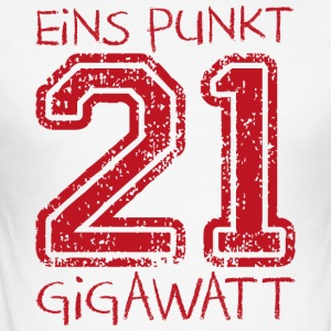 01:21 gigawatt - slim fit T-shirt