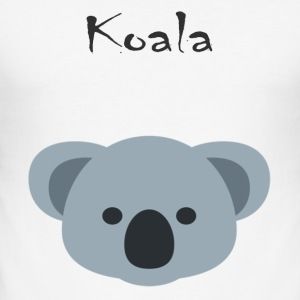 koala - Slim Fit T-skjorte for menn