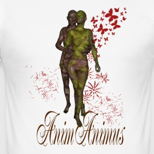 Anima-animus2 - Männer Slim Fit T-Shirt