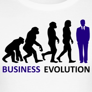 ++ ++ Business Evolution - Men's Slim Fit T-Shirt