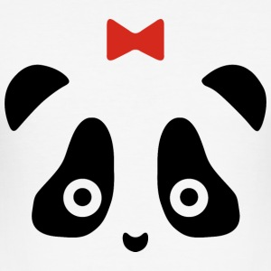 panda - Slim Fit T-shirt herr